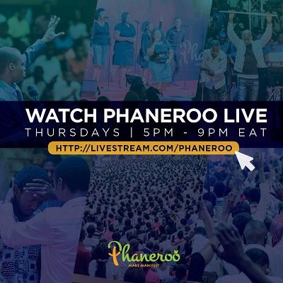 Phaneroo Livestream