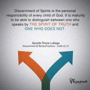 Discernment Of Spirits: Prophecy - Phaneroo