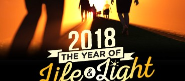 Year of Life and Light – 2018 New Year Message