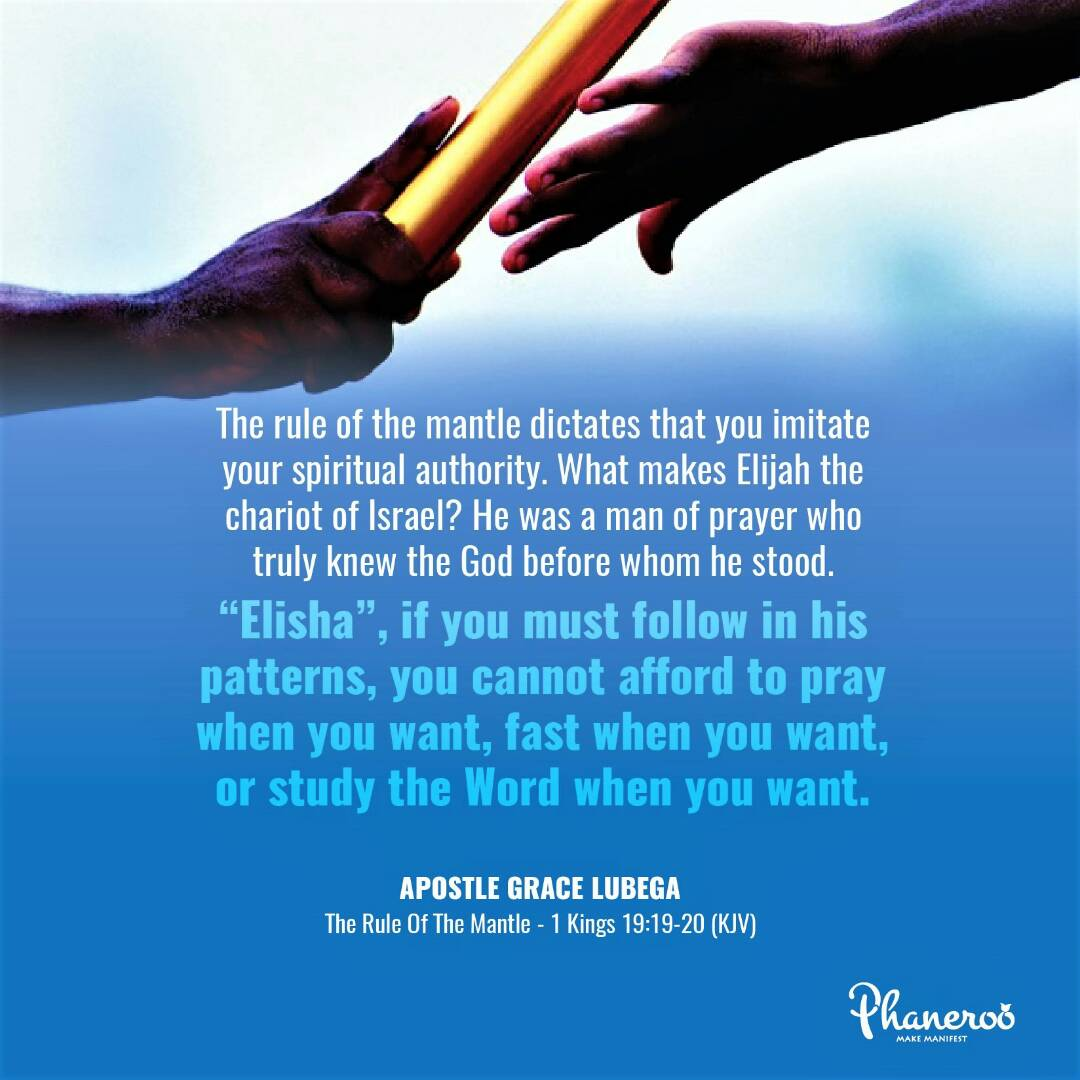The Rule Of The Mantle - Phaneroo