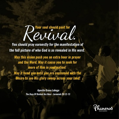 The Days Of Revival Are Here - Phaneroo