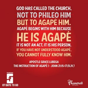 The Instruction Of Agape - 1