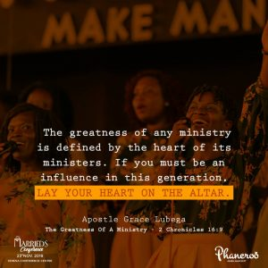 The Greatness Of A Ministry