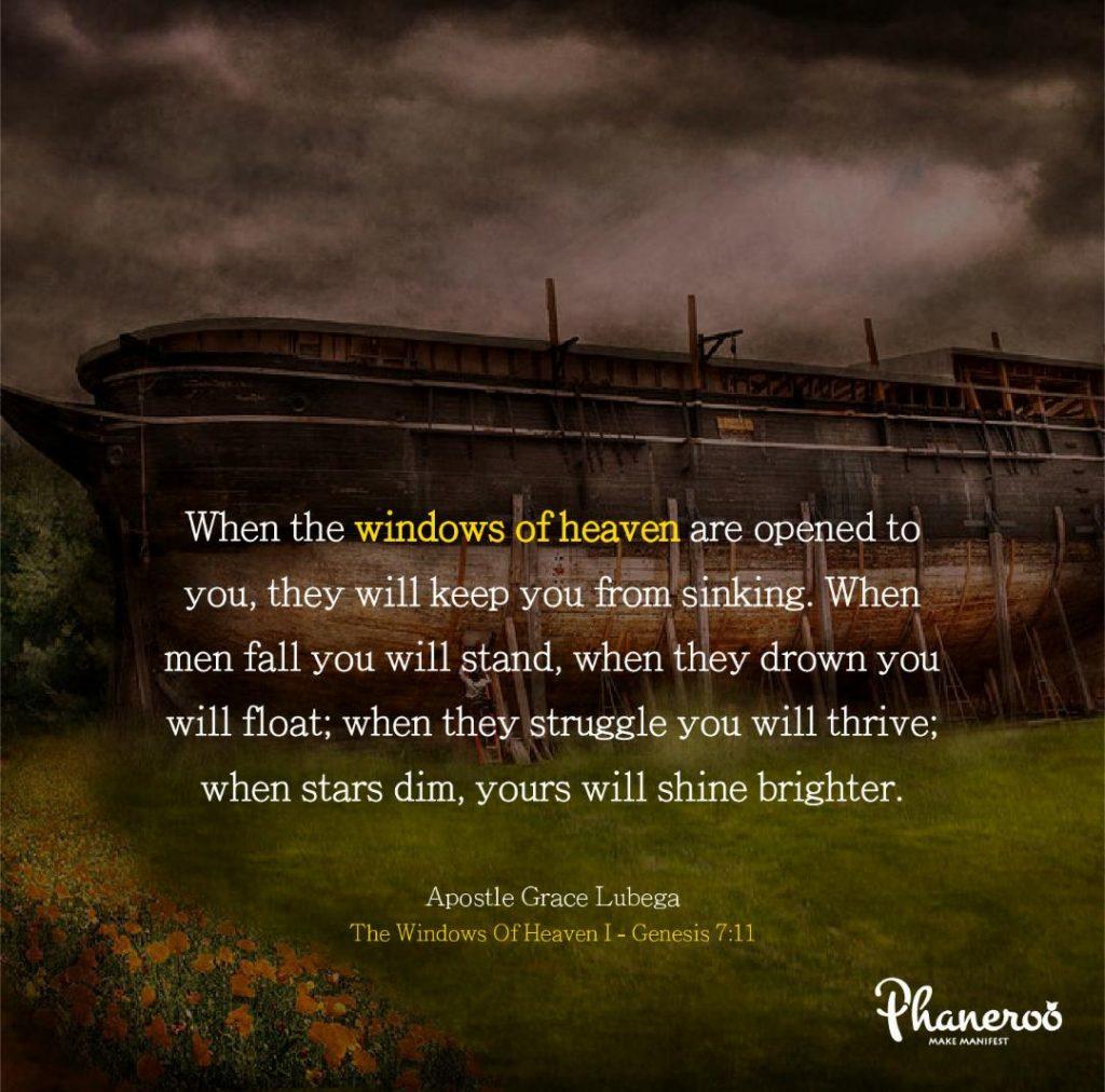 The Windows Of Heaven - 1