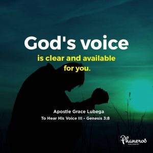 To Hear His Voice – 3