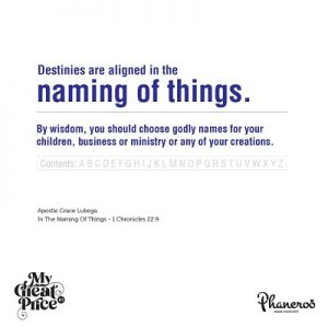 In The Naming Of Things